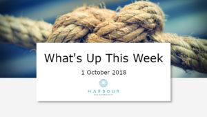Weekly Market Update 1 Oct 2018