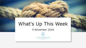 Weekly Market Update 5 Nov 2018