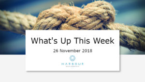 Weekly Market Update 26 Nov 2018